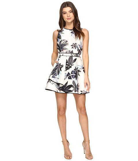 Keepsake the Label Multi Abstract Floral Print Dress