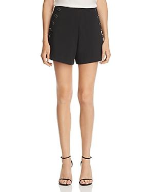 AQUA Women's Black Sailor Shorts
