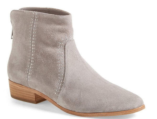 Joie Women's Suede Rear Zipper Ankle Boots