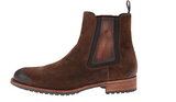 Magnanni Rustic Brown Leather Pull-up Men's Boots