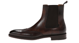 Magnanni Brown Wingtip Chelsea Men's Boots