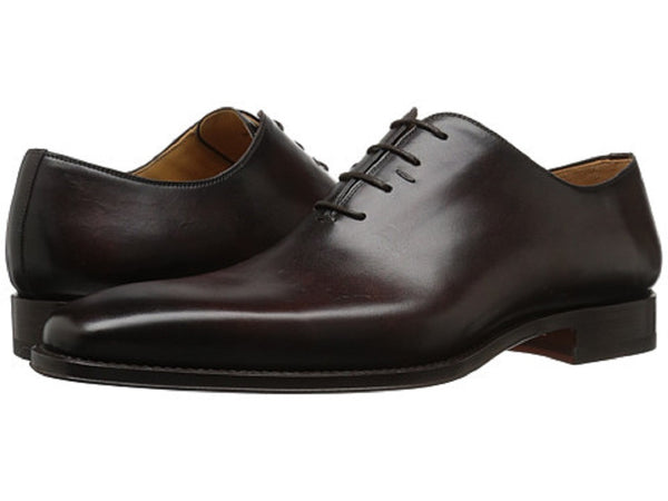 Magnanni Brown Calf Leather Men's Oxfords