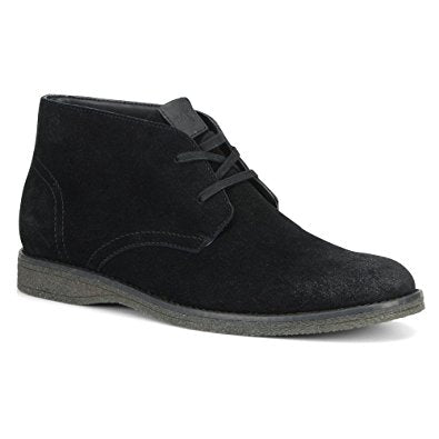 Marc New York by Andrew Marc Men's Black Leather Ankle Boots