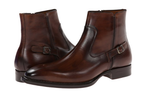 Mezlan Cognac Mens Leather Boots