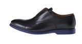 Paul Smith Seymour Black Leather Captoe Oxfords