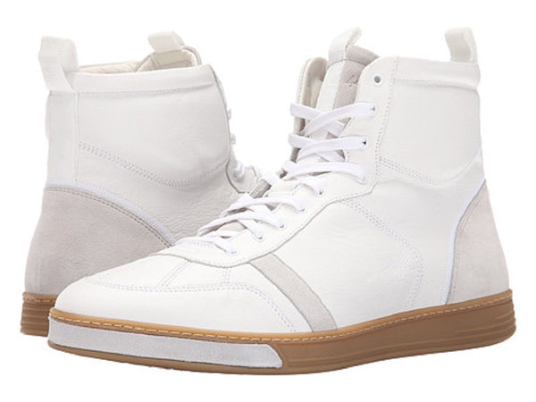 rag & bone Men's White Hi Sneakers