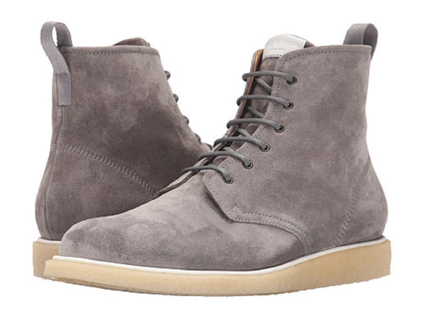 rag & bone Men's Grey Suede/Leather Ankle Boots