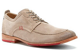 Rockport Tan Suede Parker Hill Split-toe Oxfords