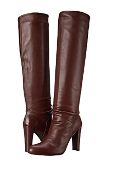 Stuart Weitzman Women's Brown Nappa Leather Boots