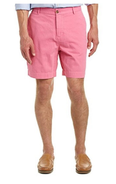TailorByrd Men's Pink Cotton Shorts