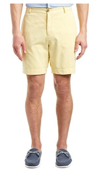 TailorByrd Men's Yellow Cotton Shorts