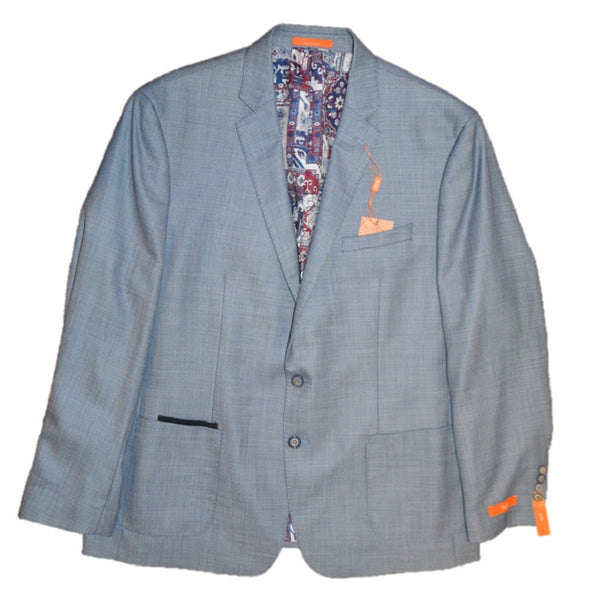 Tallia Men's Blue Two-button Blazer