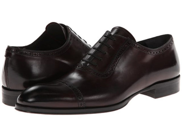 To Boot New York Bordeaux Leather Men's Oxfords