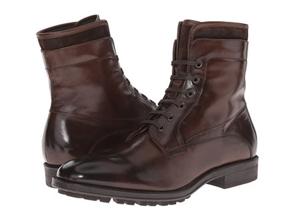 To Boot New York Brown Leather and Suede Men's Boots