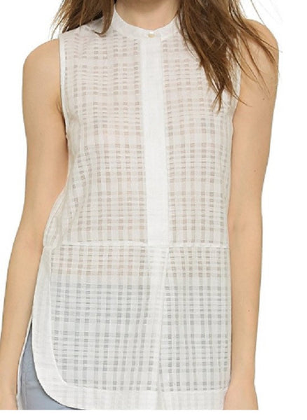 Vince Women's Sleeveless Tunic Blouse