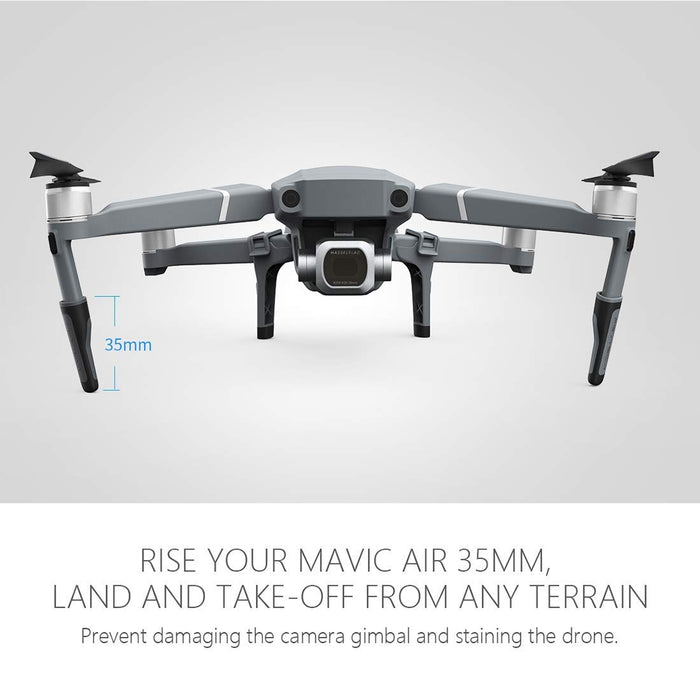 Mavic 2 Pro/Mavic 2 Zoom PGYTECH Silicone Quick Release Extended Landing Gear