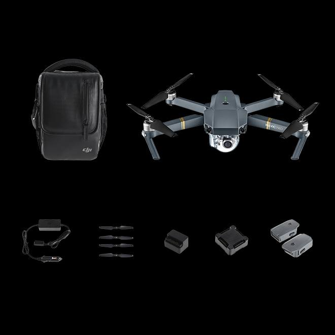 Beginner Drones - Mavic Pro Platinum Fly More Combo