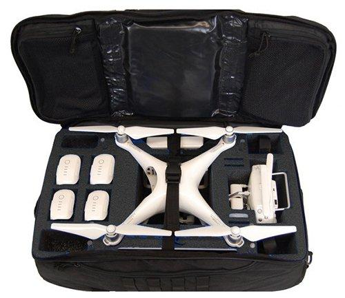 Protective Cases - Microraptor Black Backpack For DJI Phantom 4 Series