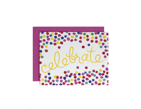 Confetti Celebration Card