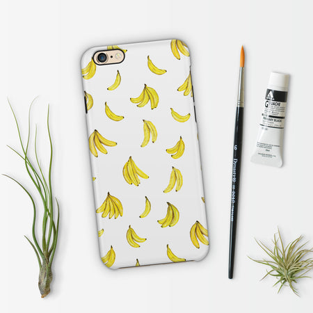 Bananas Patterned Phone Case