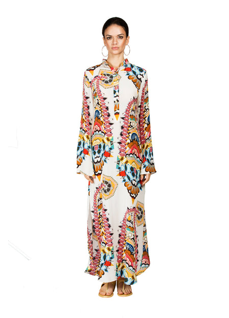 Caitlyn Silk Maxi Dress