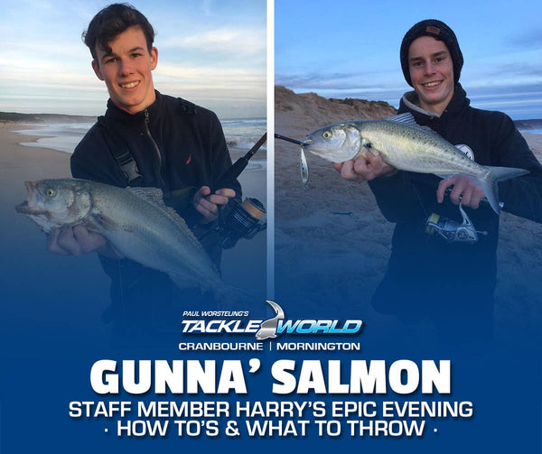 Gunnamatta Salmon Fishing with Harry Bould
