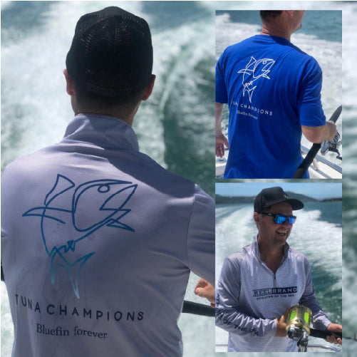 Reel Brand Tuna Champions Fishing Shirt - BONUS TEE