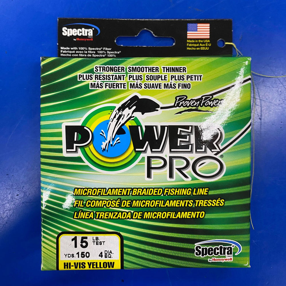 POWER PRO 150yds - YELLOW - 15lb - ISO DAILY DEAL