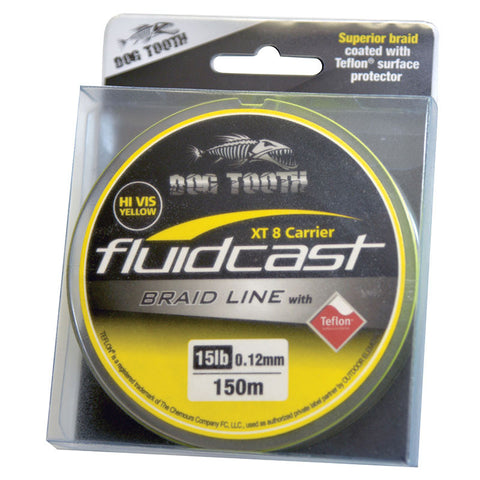 DOG TOOTH FLUIDCAST XT 8 CARRIER BRAID