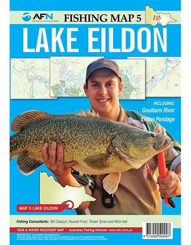 AFN Map - Lake Eildon