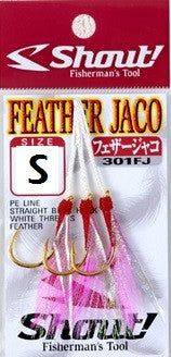 Shout Feather Jaco Hook