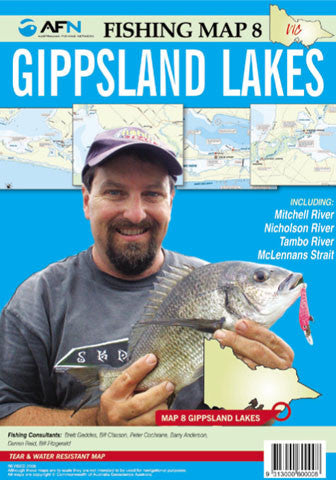 AFN Map - Gippsland Lakes