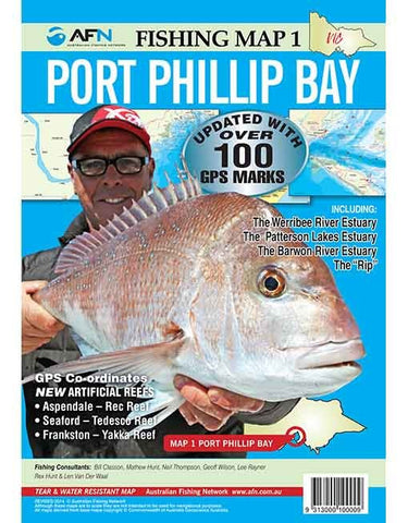 AFN Map - Port Phillip Bay
