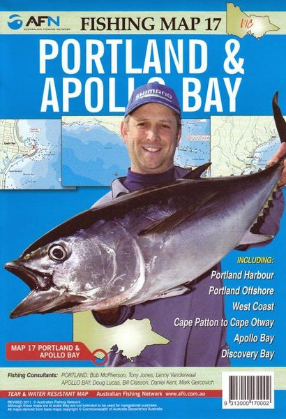 AFN Map - Portland & Apollo Bay