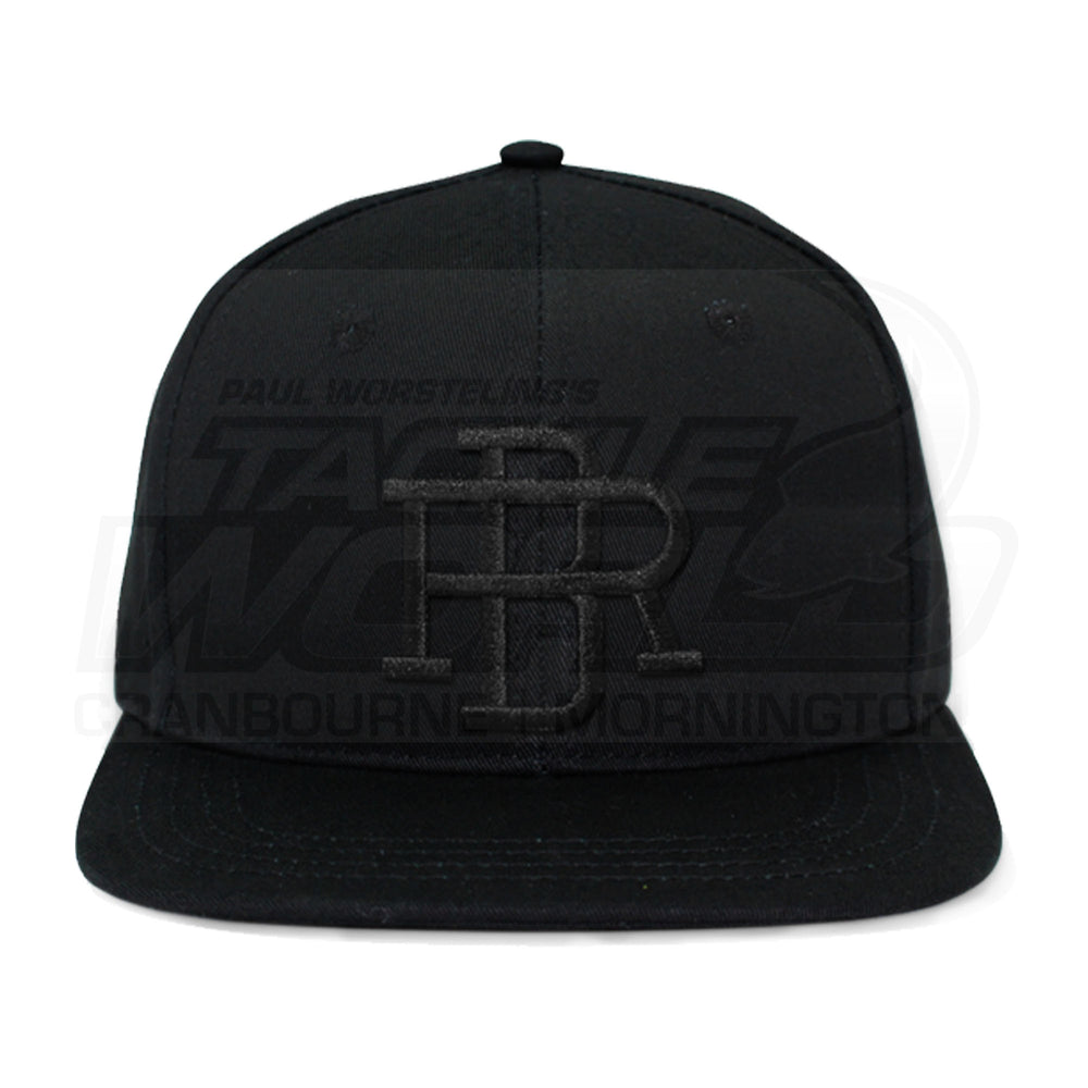 Reel Brand Snap Back Cap Black