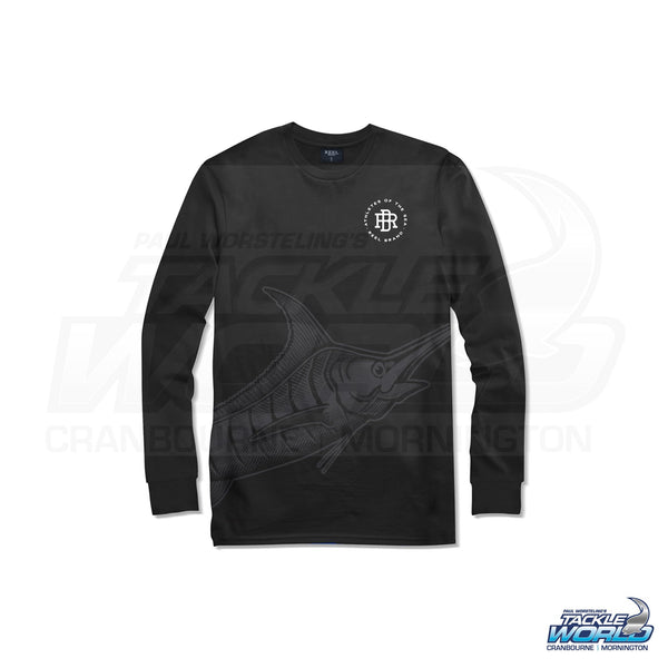 Reel Brand Ghost Marlin Long Sleeve Tee Shirt