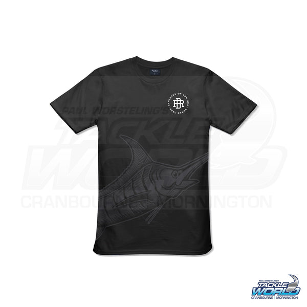 Reel Brand Ghost Marlin Logo Tee Shirt