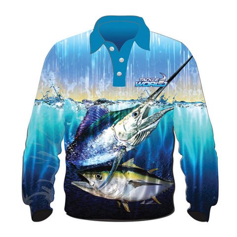 Tackle World Elite Fishing Shirts - Bluewater Species 2017