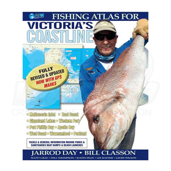 Fishing Atlas for Victoria Coastline re:edit by Jarrod Day