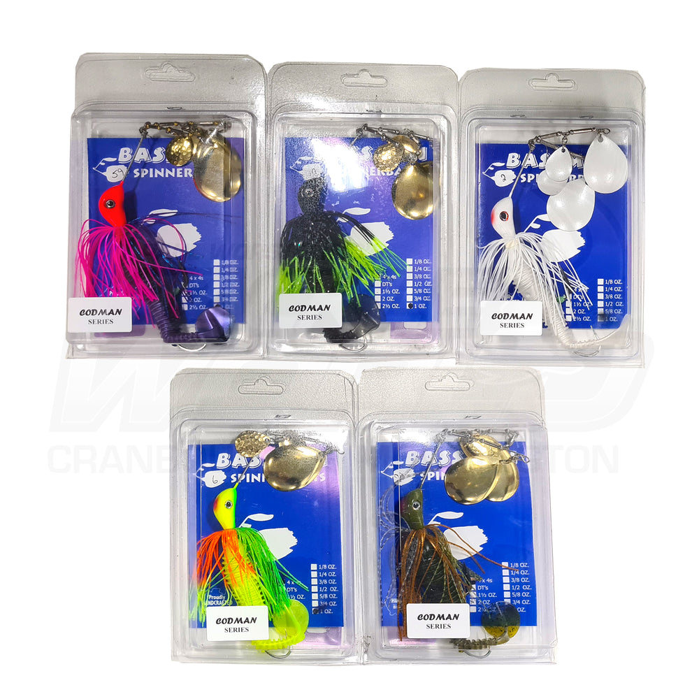 Bassman Spinnerbait Lake Eildon Pack