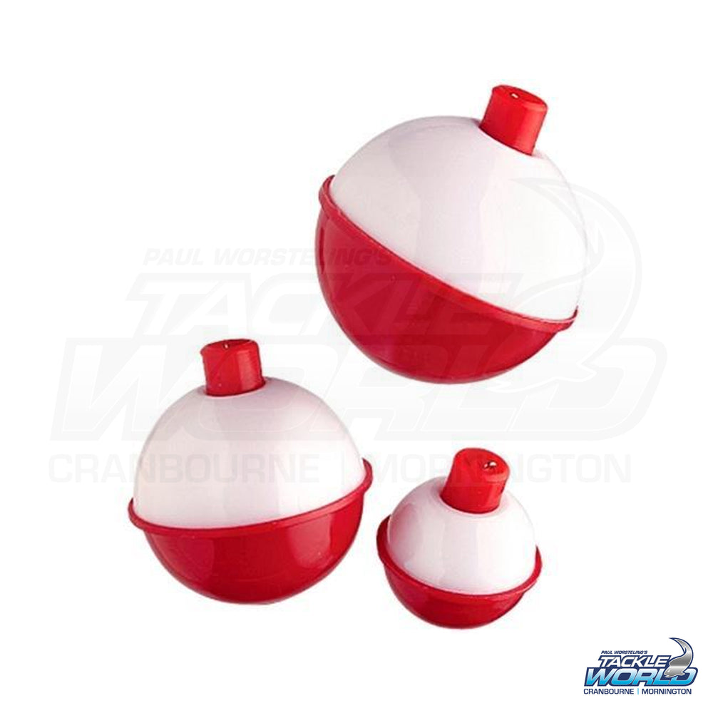 Red and White Bobber Floats