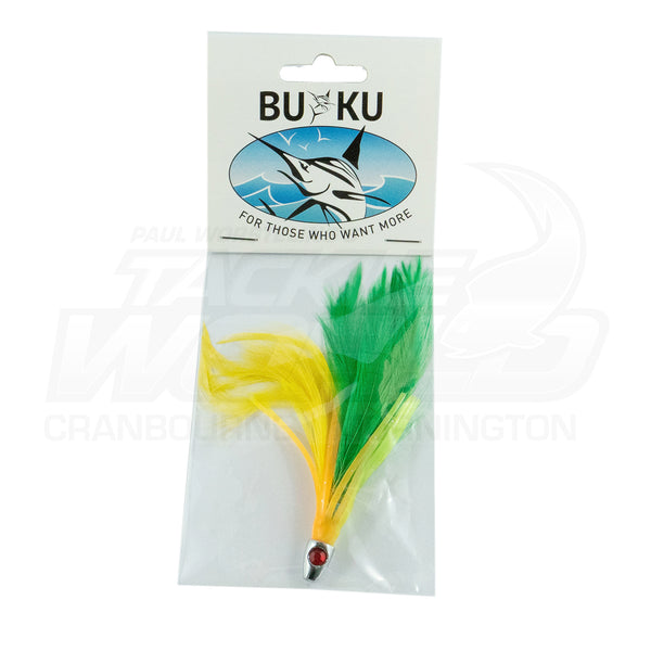 BUKU Tuna Zapper Feathered Game Skirt