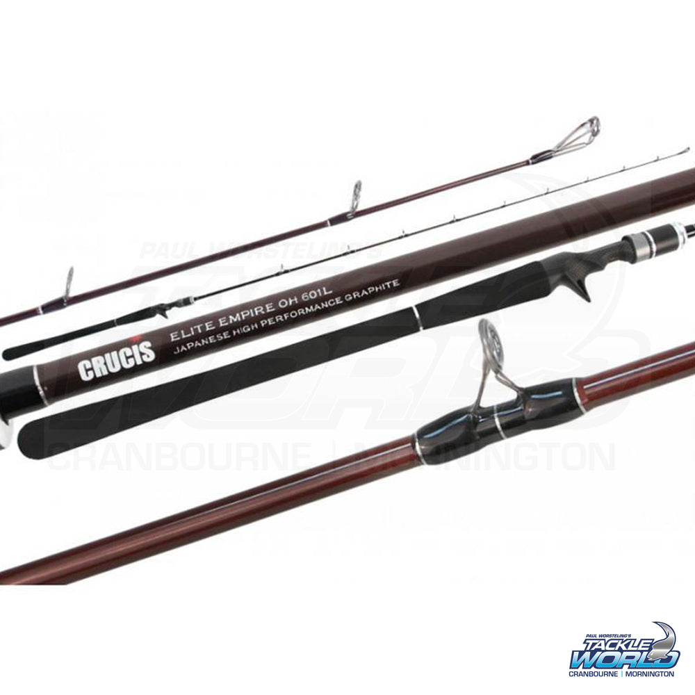 Crucis Elite Empire Jigging Rods