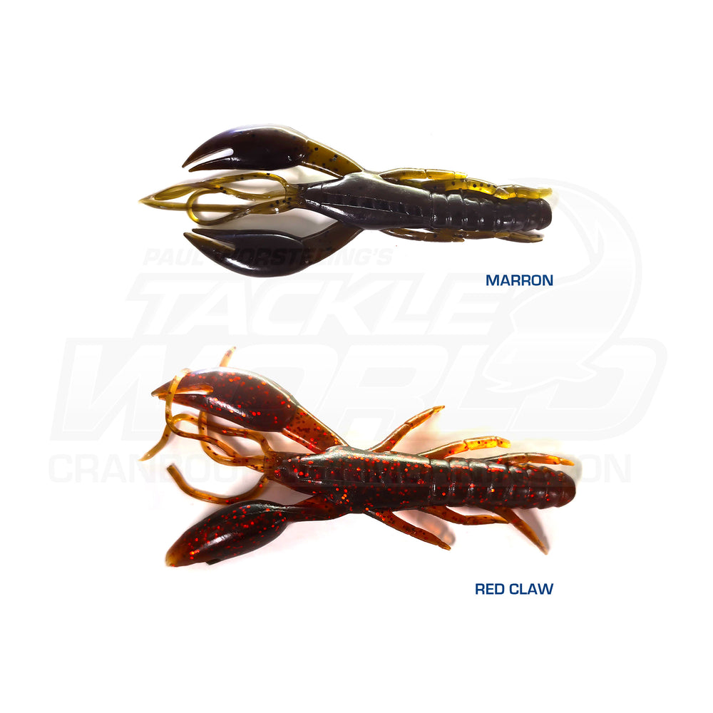 Fuze The Claw 100mm Soft Plastics