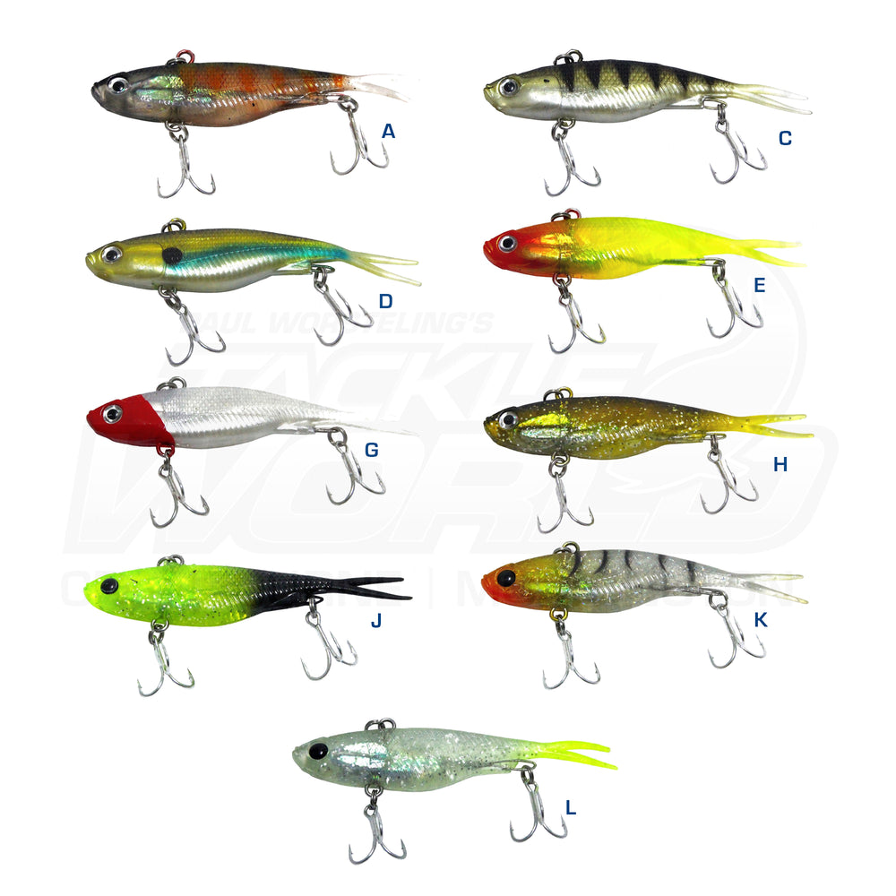 Fuze Pulse Soft Vibe Lure