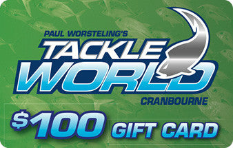 Tackle World Cranbourne & Mornington Gift Vouchers