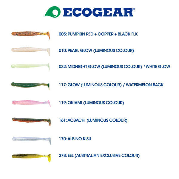 "Ecogear 2.5"" Grass Minnows"