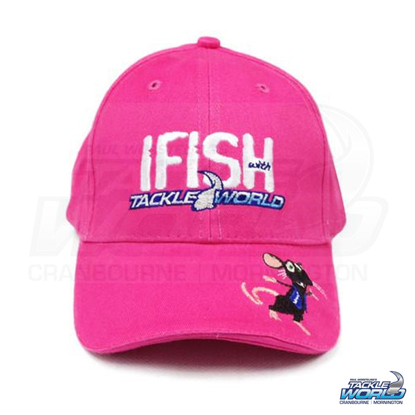 IFISH Tackle Rat cap - Pink