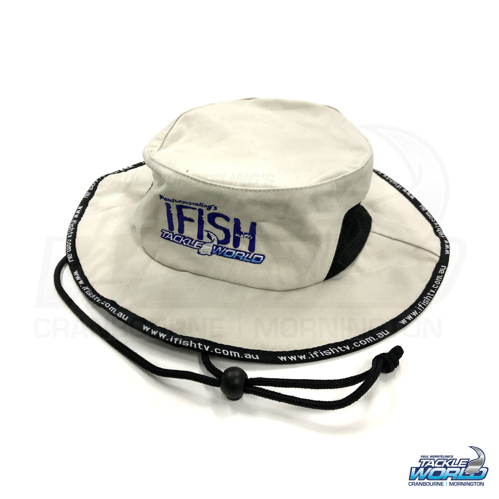 IFISH Beige Bucket Hat