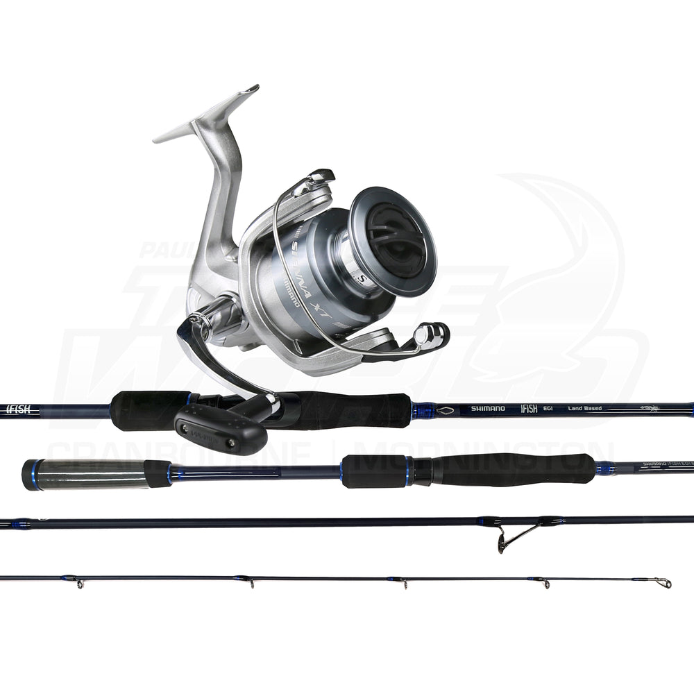 Squid Combo - IFISH EGI & SIENNA 2500XT